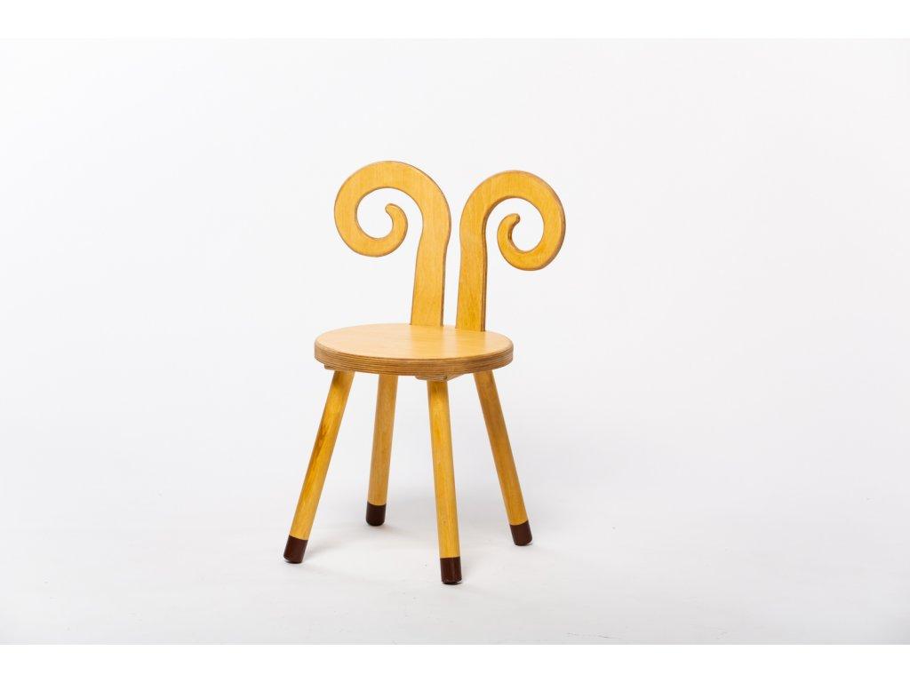 dětská židle BERAN - dub