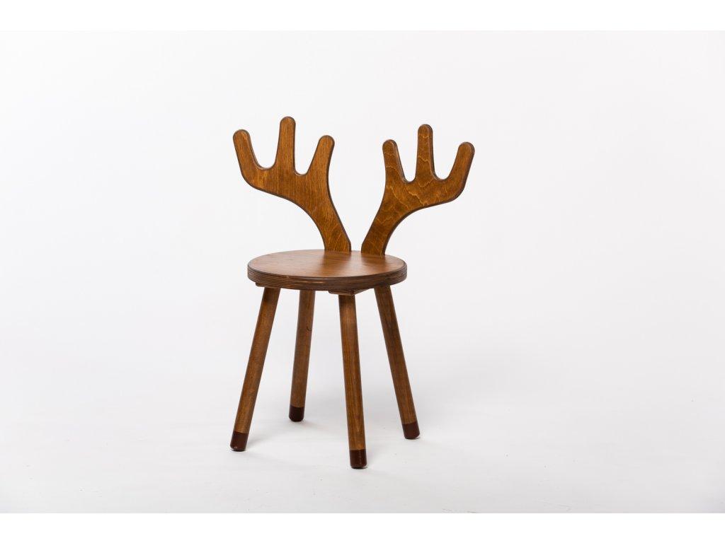 dětská židle JELEN - ořech