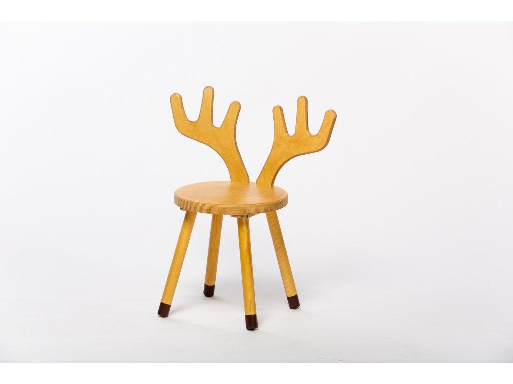 dětská židle JELEN - dub