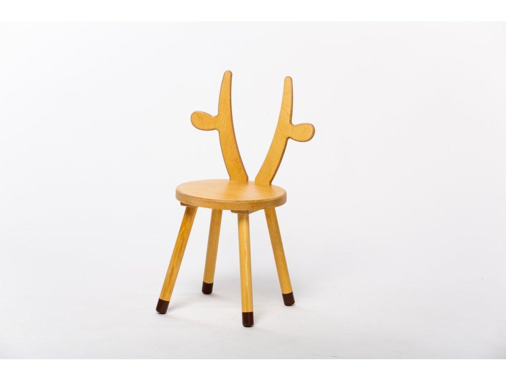 dětská židle KRÁVA - dub