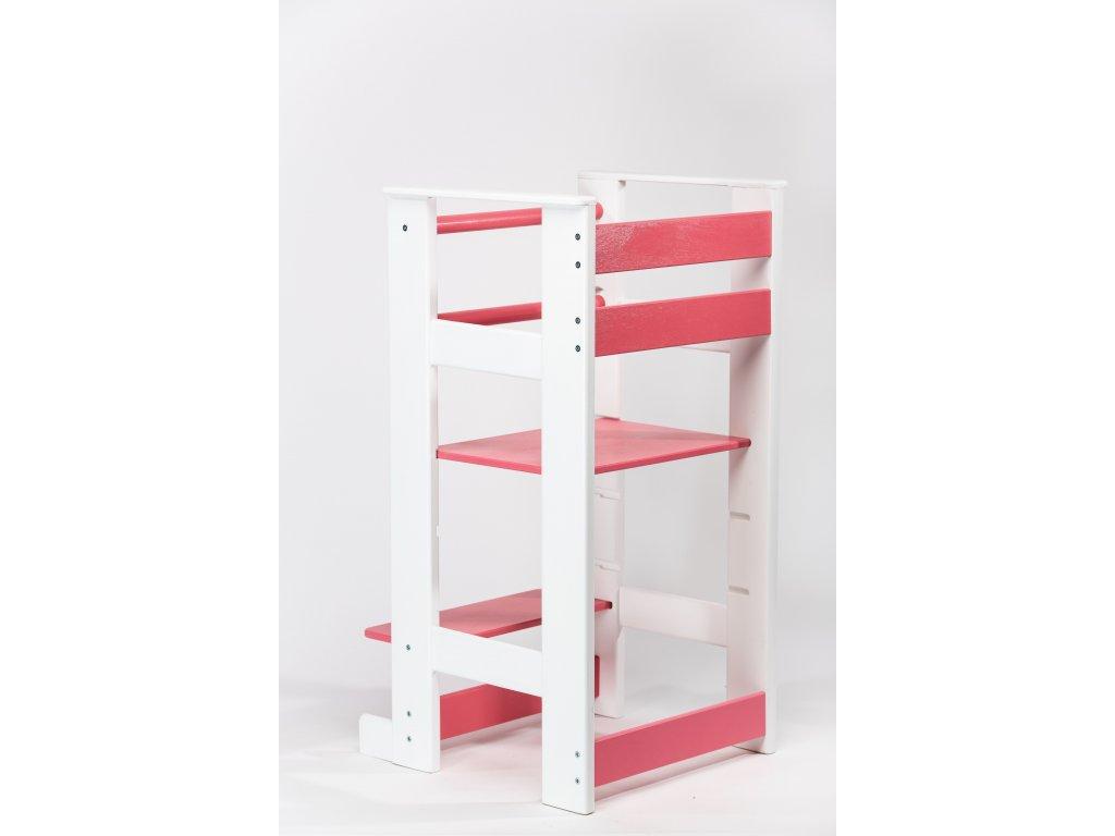 učící věž Žofka - bílá/růžová