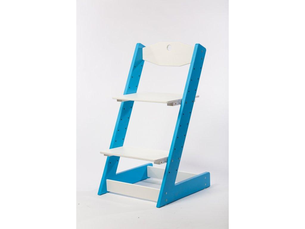 rostoucí židle-2. MODRÁ TYP II