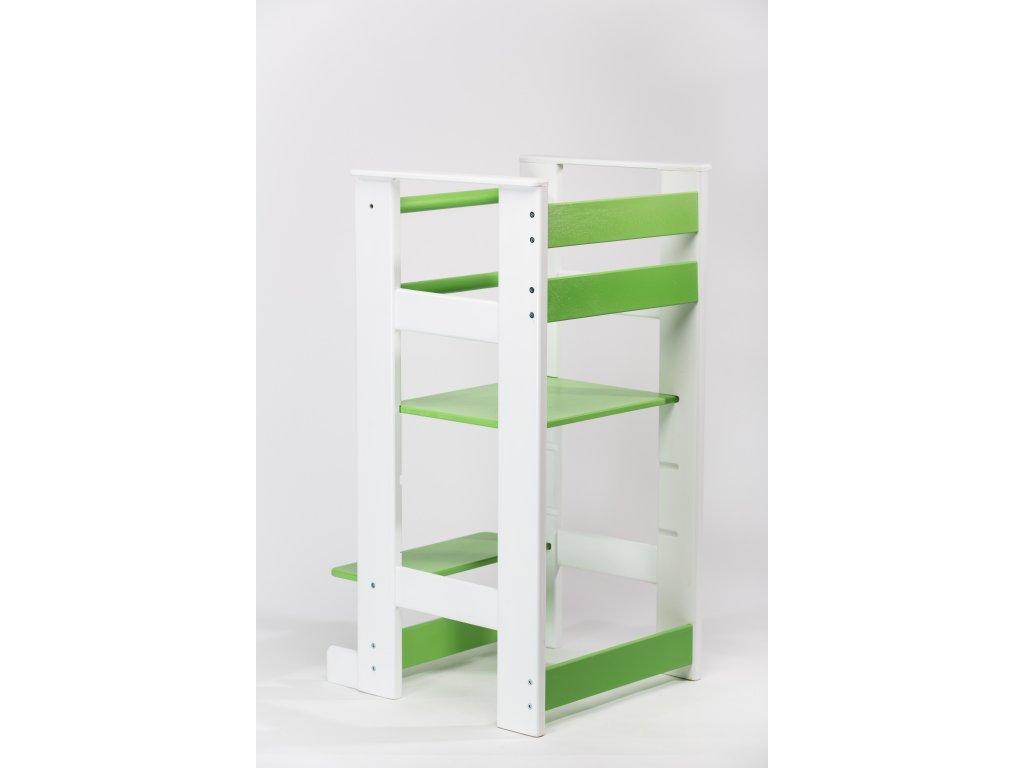 učící věž Žofka - bílá/zelená