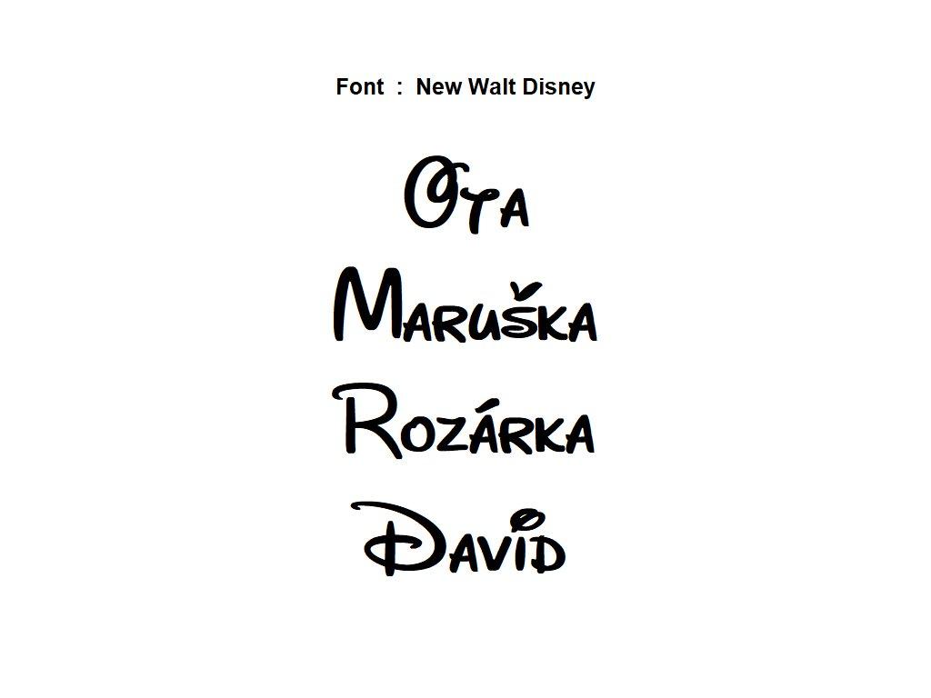 New Walt Disney