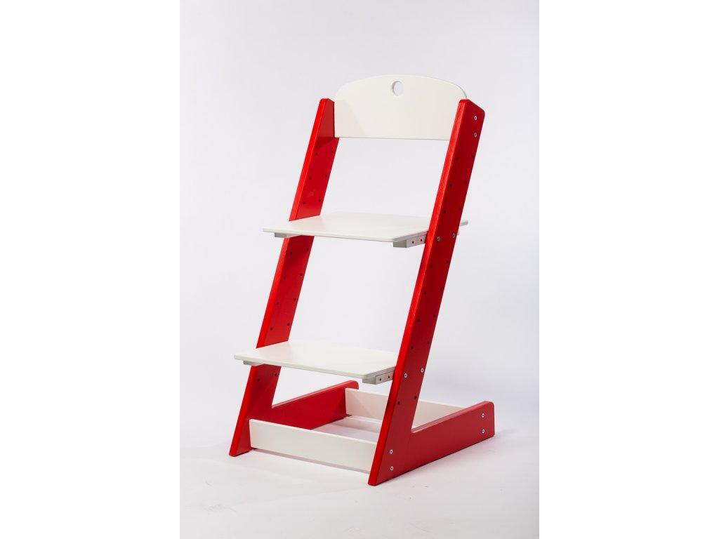 rostoucí židle-5. ČERVENÁ TYP III