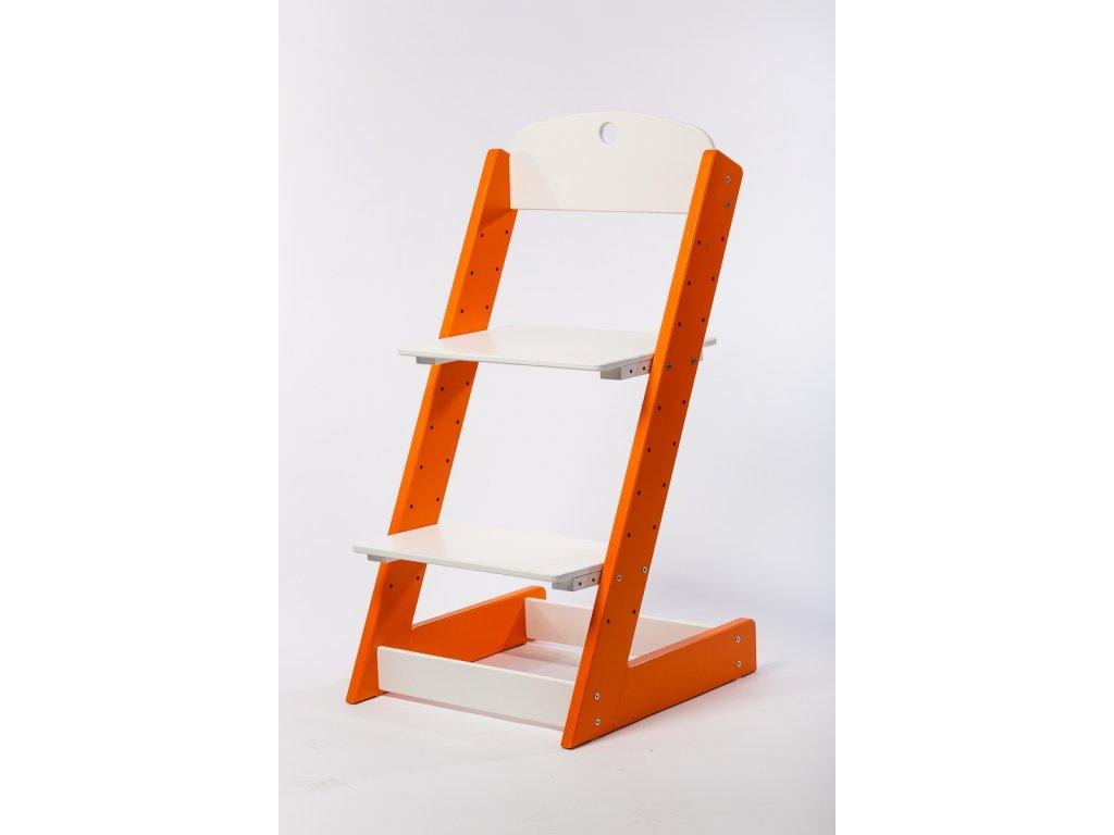 rostoucí židle-6. ORANŽOVÁ TYP III