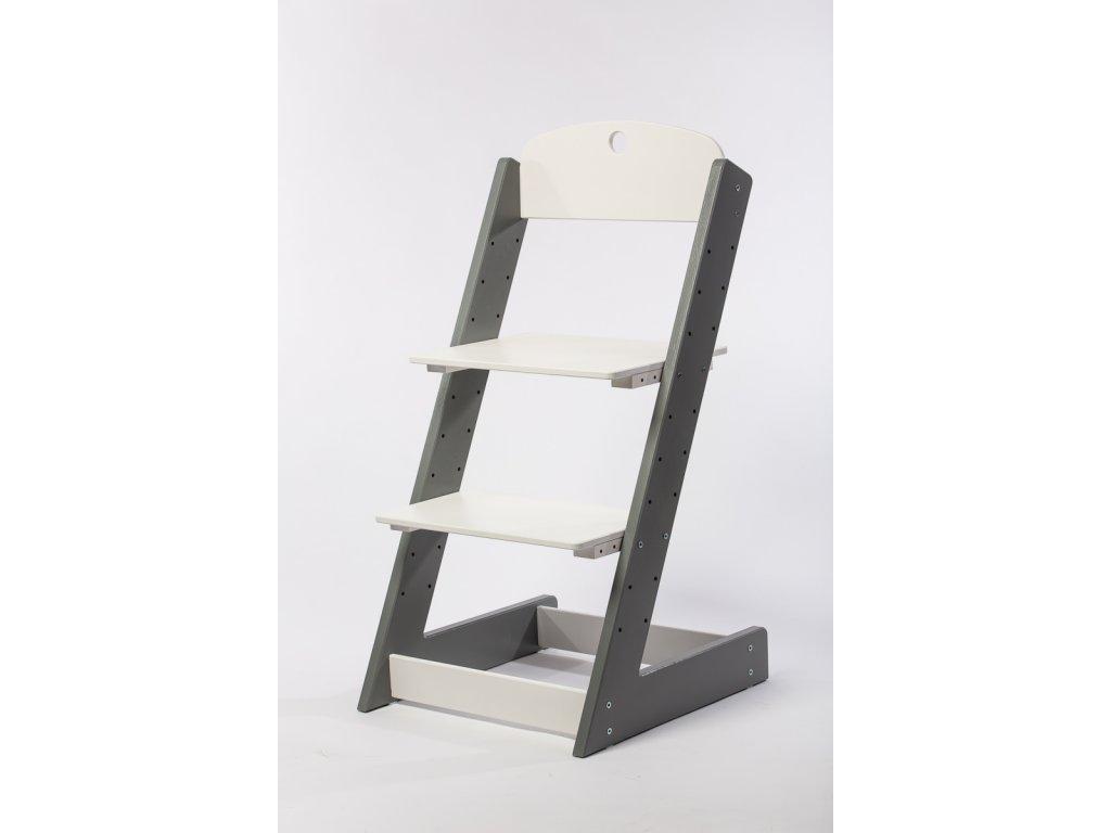 rostoucí židle-10. ŠEDÁ TYP III