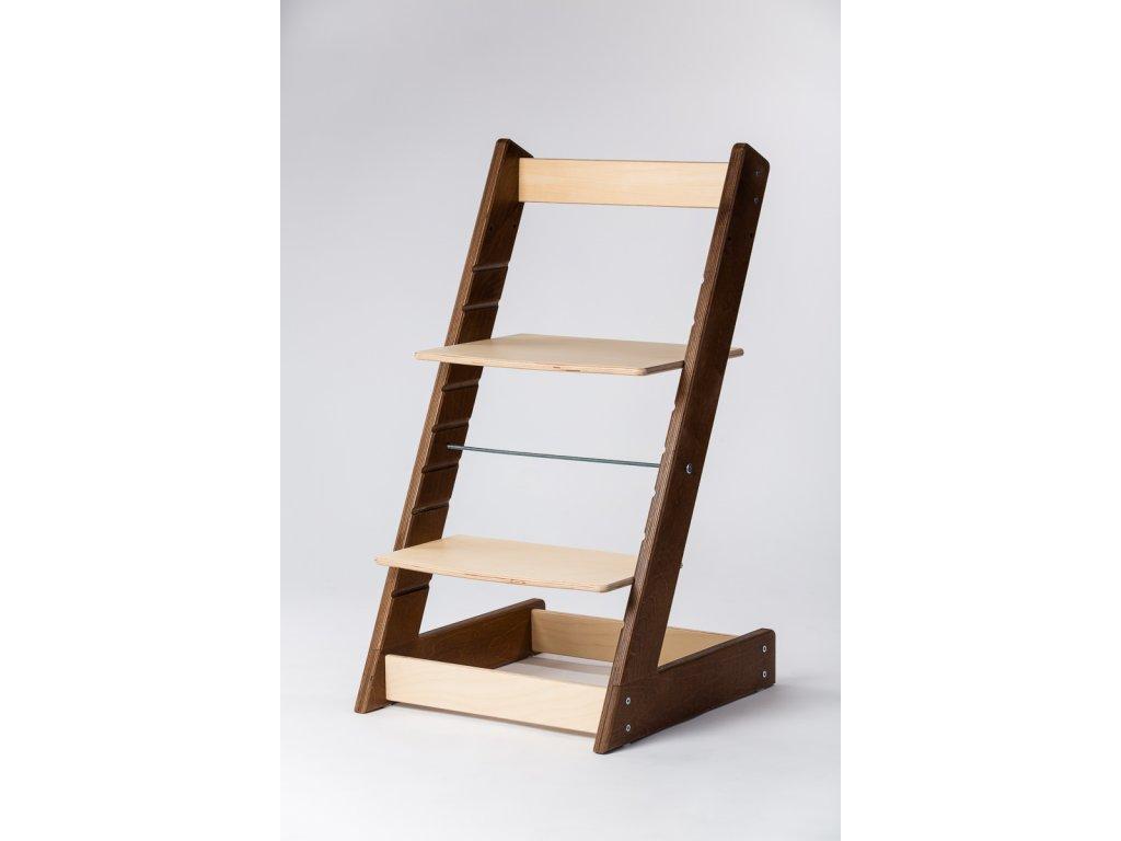rostoucí židle ALFA I - PRIME ořech/přírodní