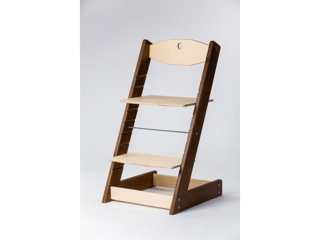 rostoucí židle ALFA II - PRIME ořech/přírodní