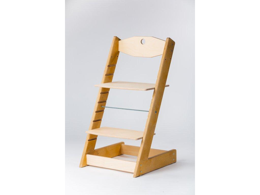 rostoucí židle ALFA II - PRIME dub/přírodní