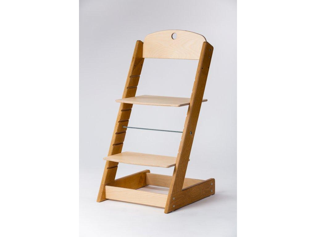 rostoucí židle ALFA III - PRIME buk/přírodní
