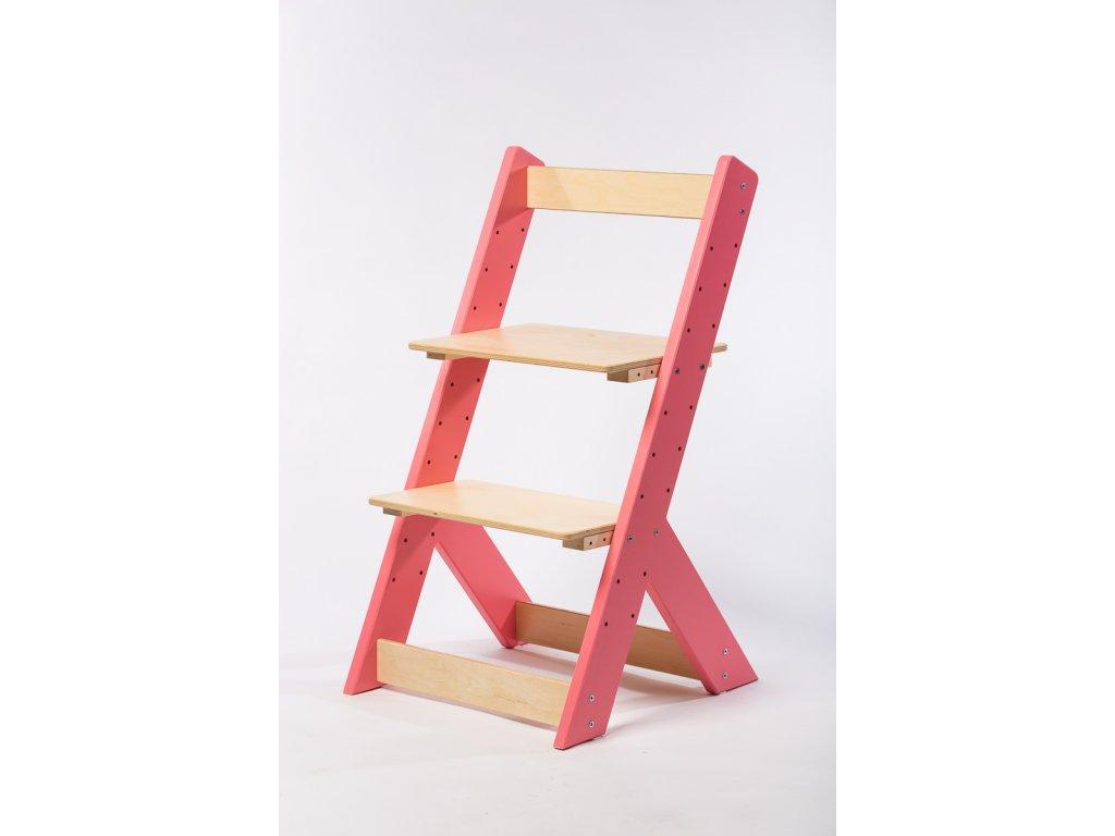 rostoucí židle-1. RŮŽOVÁ TYP I