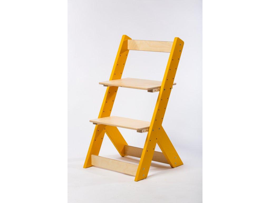 rostoucí židle-4. ŽLUTÁ TYP I