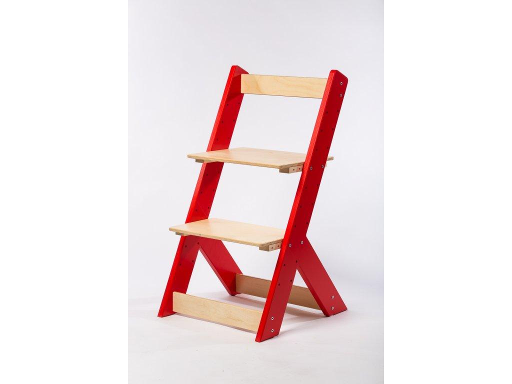 rostoucí židle-5. ČERVENÁ TYP I