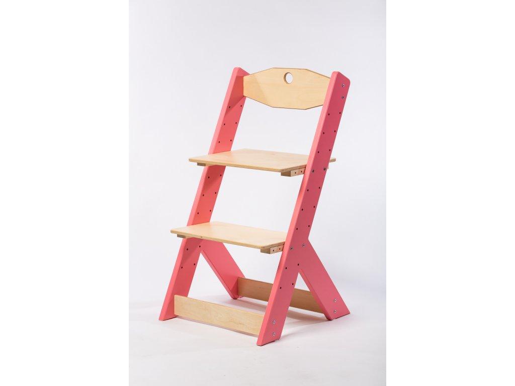 rostoucí židle-1. RŮŽOVÁ TYP II