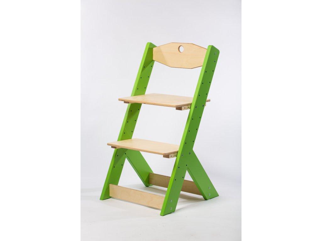 rostoucí židle-3. ZELENÁ TYP II