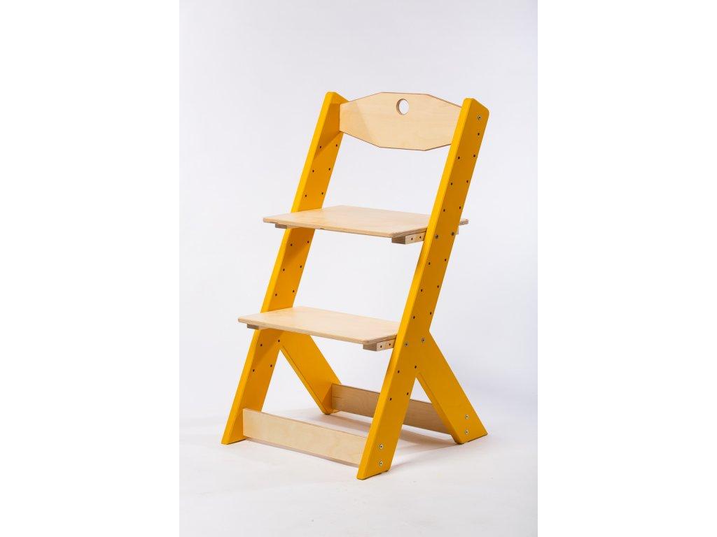 rostoucí židle-4. ŽLUTÁ TYP II