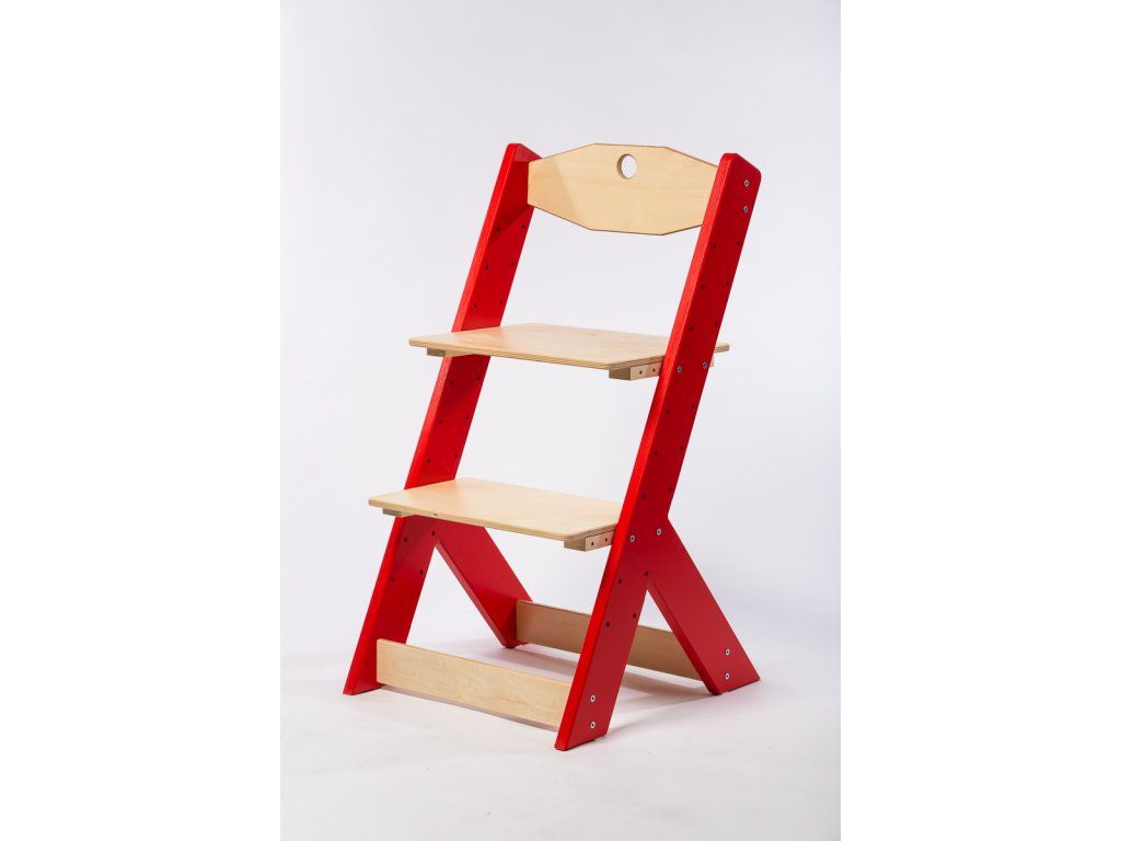 rostoucí židle-5. ČERVENÁ TYP II