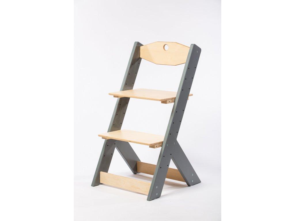 rostoucí židle-10. ŠEDÁ TYP II