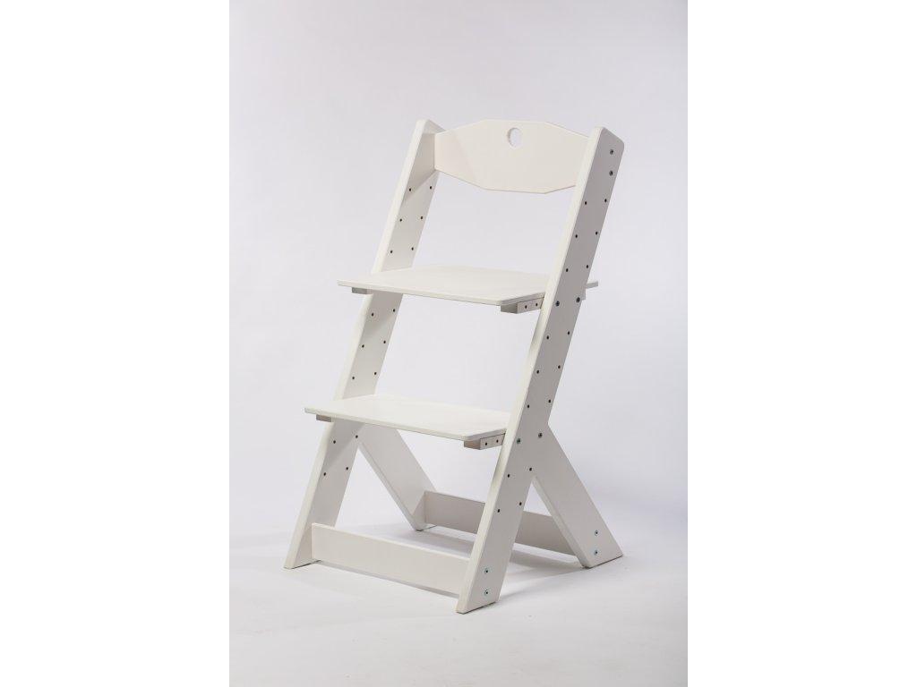rostoucí židle-11. BÍLÁ TYP II