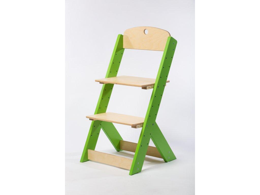 rostoucí židle-3. ZELENÁ TYP III