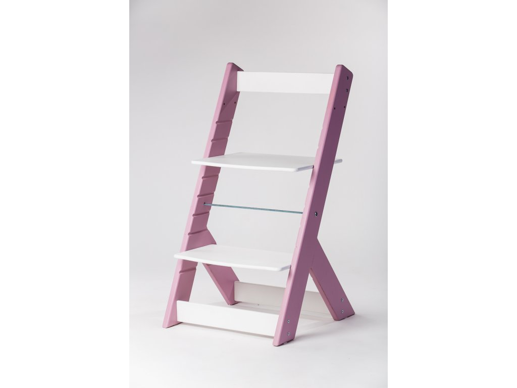 rostoucí židle OMEGA I - PRIME lila/bílá