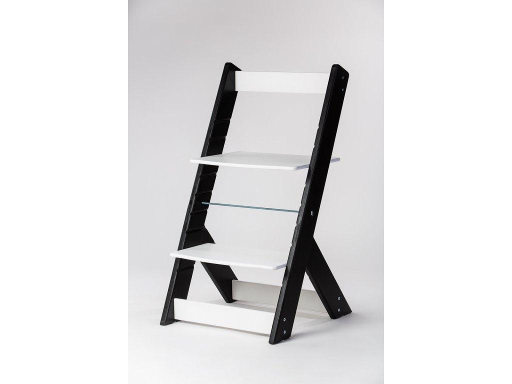 rostoucí židle OMEGA I - PRIME černá/bílá