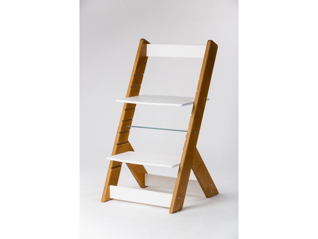 rostoucí židle OMEGA I - PRIME buk/bílá