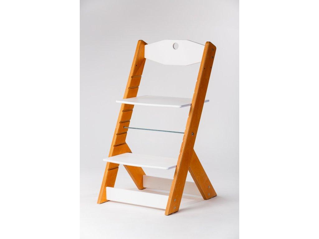 rostoucí židle OMEGA II - PRIME modřín/bílá