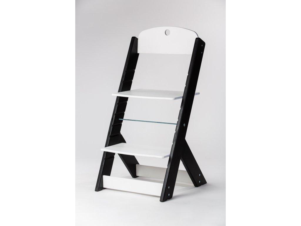 rostoucí židle OMEGA III - PRIME černá/bílá