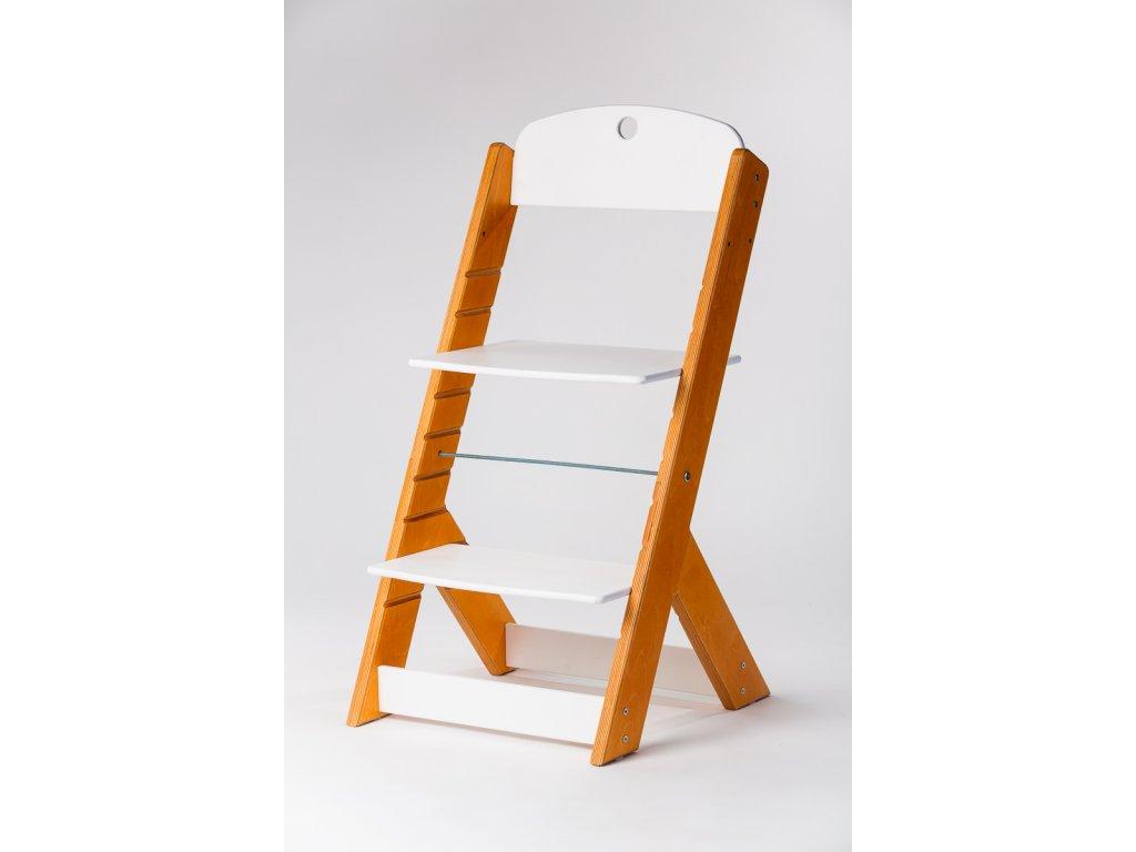 rostoucí židle OMEGA III - PRIME modřín/bílá