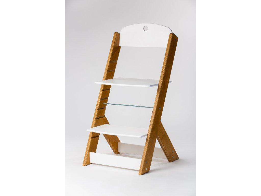 rostoucí židle OMEGA III - PRIME buk/bílá
