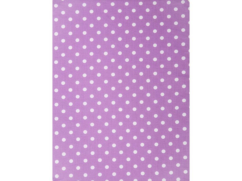Molitanová opěrka k rostoucím židlím ALFA a OMEGA - lila s puntíky