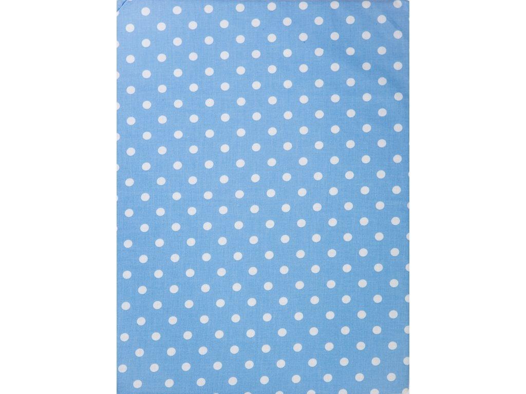 Molitanová opěrka k rostoucím židlím ALFA a OMEGA - modrá s puntíky