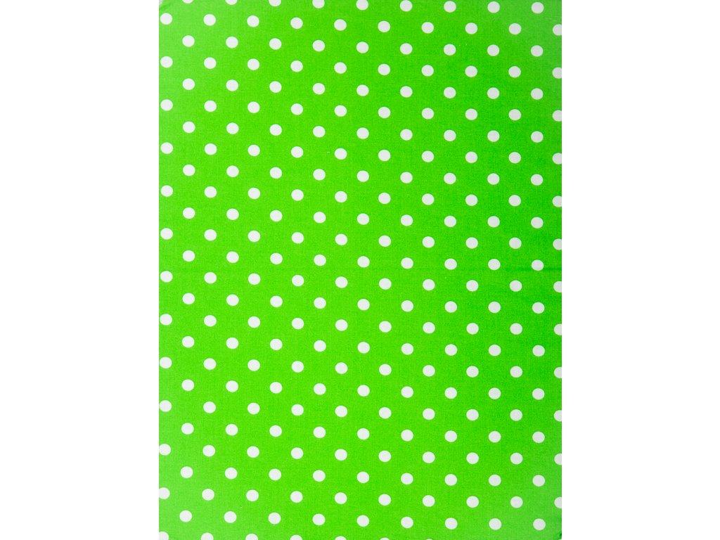 Molitanová opěrka k rostoucím židlím ALFA a OMEGA - zelená s puntíky