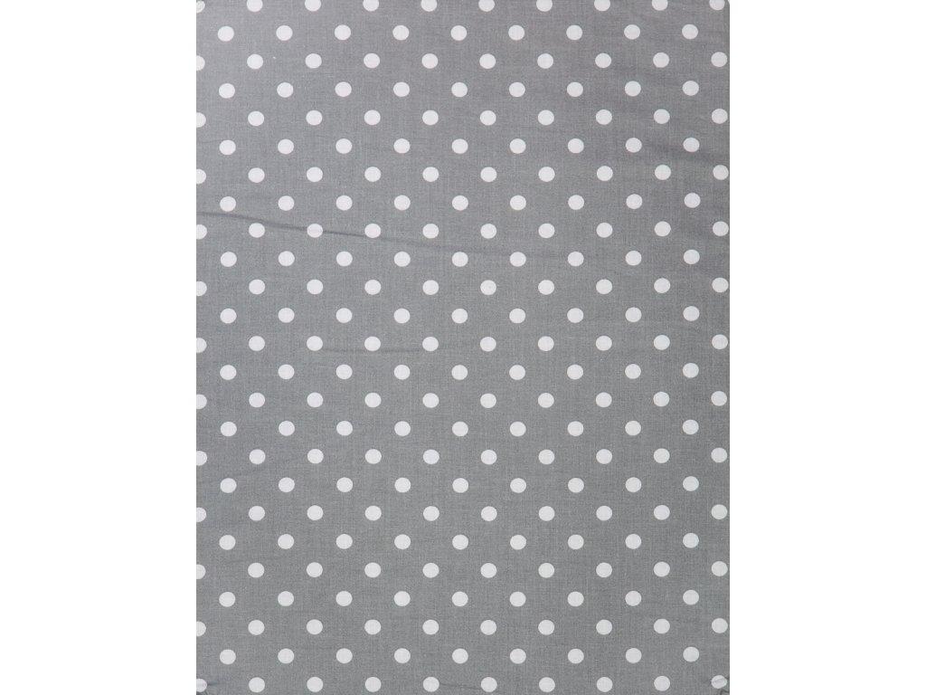 Molitanová opěrka k rostoucím židlím ALFA a OMEGA - šedá s puntíky