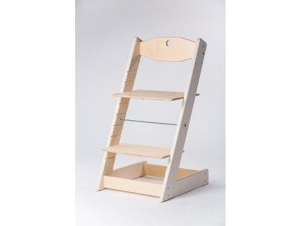 rostoucí židle ALFA II - PRIME béžová/přírodní