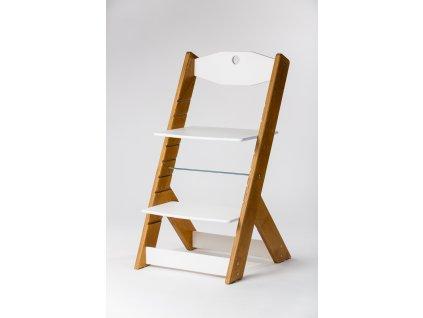 rostoucí židle OMEGA II - PRIME buk/bílá