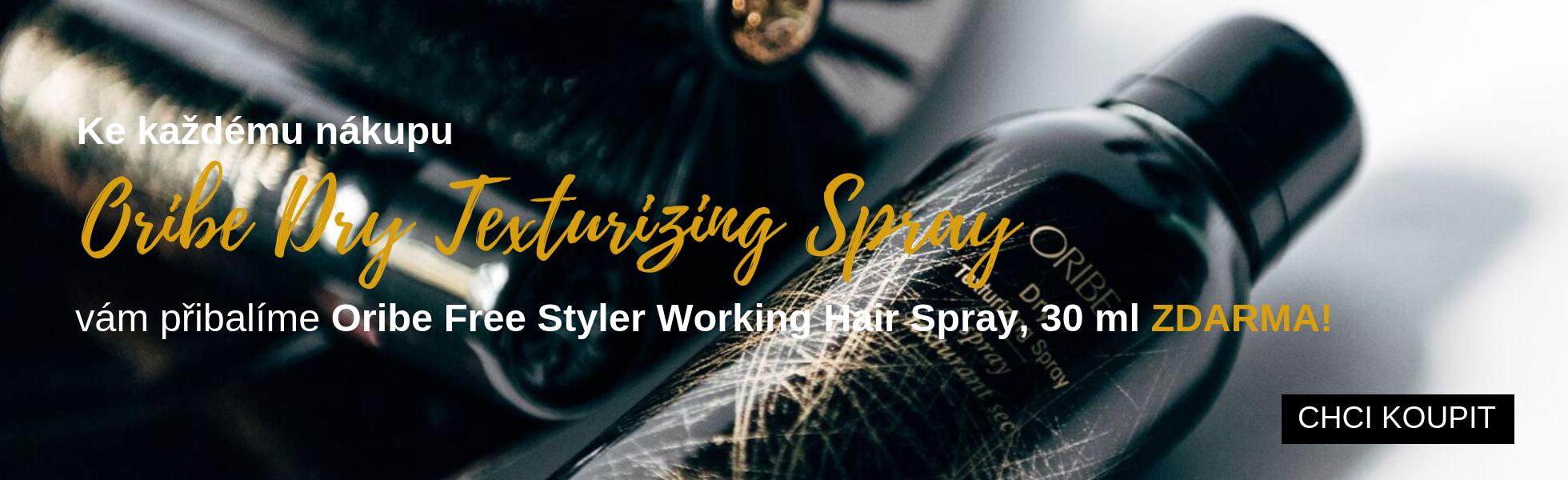 Oribe Dry Texturizing Spray + Oribe Free Styler Working Hair Spray, 30 ml ZDARMA
