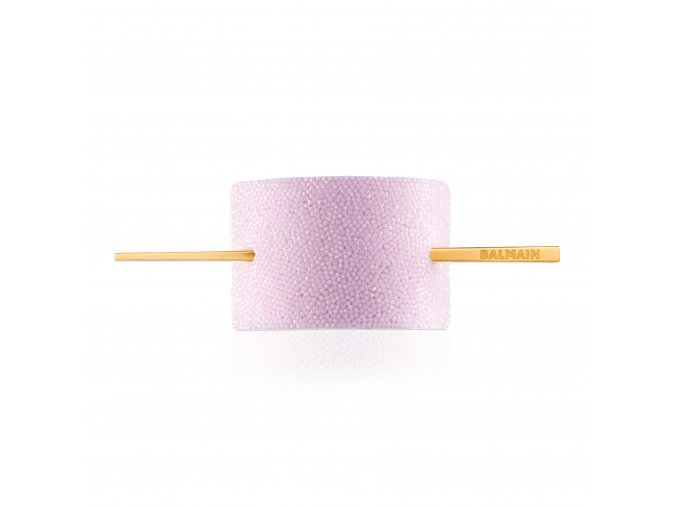 BalmainHair Accessories HairBarrette LimitedEdition SpringSummer20 CrystalPink