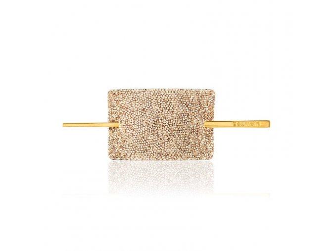 balmainhair accessories hairbarrette limitededition fallwinter20 crystalgold 800x800