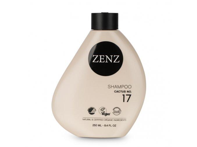 ZENZ SHAMPOO CACTUS NO.17 -  intenzivně hydratační šampon