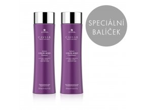 Caviar Infinite Color Hold výhodný set (shampoo + conditioner, 250 ml)