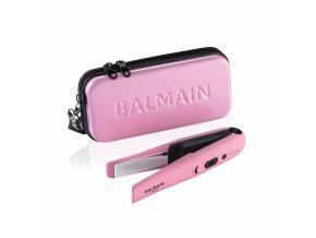 BalmainHair Tools CordlessStraigtener Set Pink