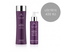 Caviar Clinical Densifying výhodný set (Shampoo + Treatment)