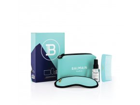 BalmainHair CosmeticBag LimitedEdition SpringSummer21 Turquoise withBox LR