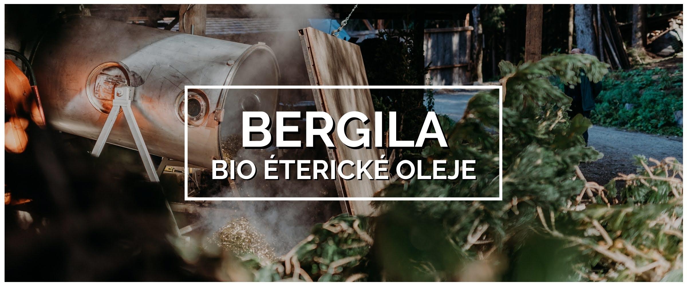 Bergila éterické oleje