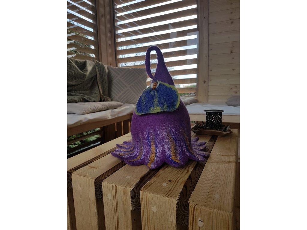 Zahradní skvost - saunová čepice