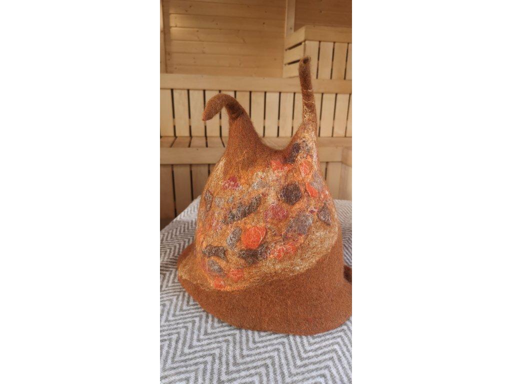 saunová čepice (2)