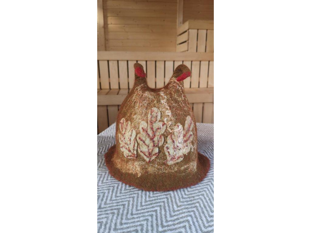 saunová čepice (4)